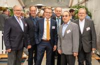 Augel 90 - v.l. Hans Peter Scharmann, Peters Engels, Rolf Scharmann, Johannes Bell, Gottfried Groß und Peter Schmitz (Bild: Dominik Ketz)