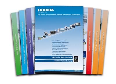 Neue Gerätebroschüre von HORIBA Scientific