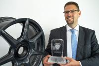 thyssenkrupp Carbon Components receives international award for development and production of braided carbon wheels