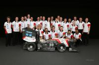 The Formula Student team of the ETH Zürich and the university of applied science Lucerne built an electric racing car in less than a year.