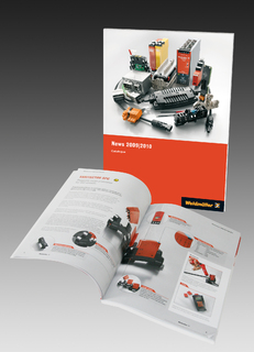 "Weidmüller ""News 2009 / 2010"" / A comprehensive and informative news catalogue about innovations in the field of electronics and electrical connectivity for machine and plant engineering"