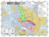 White Gold Stakes Additional Claims Around Recent High Grade Gold Discovery at the Vertigo Target on JP Ross Property and Along Mineralized Trend
