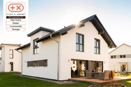 PLUS X AWARD 2017 für FingerHaus – Auszeichnung für das Musterhaus NEO in Günzburg