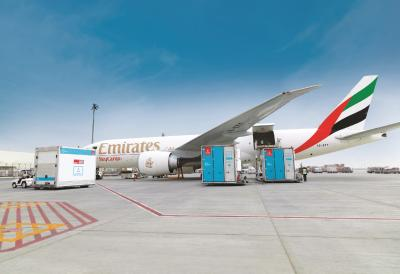 Emirates SkyCargo offers enhanced protection for pharmaceutical cargo with launch of pharma corridors