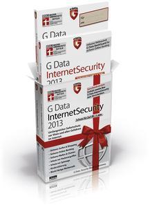 Limitierte Geschenkversion von G Data InternetSecurity 2013