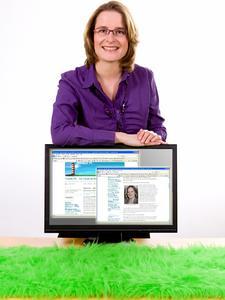 Leonie Walter, Walter Visuelle PR GmbH, bietet in ihrem Blog VisuellePR Unternehmen die Möglichkeit, über ihre Social-Media-Erfahrungen zu berichten