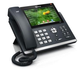 Das elegante Desktop-Telefon Yealink SIP-T48G mit intuitivem, vollfarbigem Touchscreen wurde von TCM mit dem 2015 Internet Telephony Skype for Business Pioneer Award ausgezeichnet