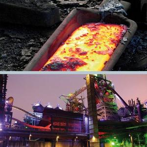 Application example for energy recovery – smelting plant