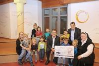 Spende für Kinderheim St. Clara in Gundelfingen