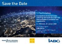 [PDF] SAFE THE DATE: Mittwoch, 29. Januar 2020 in Berlin