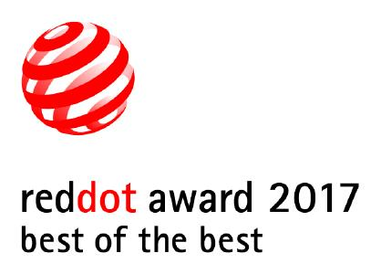 Red Dot Best of the Best Award 2017 Logo