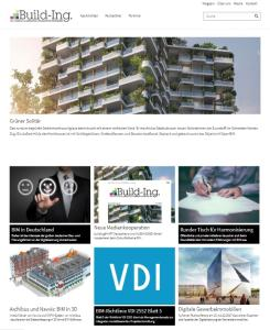 Screenshot Webseite www.build-Ing.de