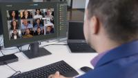 Neue Meeting-Funktion ermöglicht Video-Konferenzen schnell , einfach und sicher.