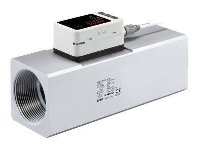 Die Durchflussschalter der Serie PF3A7H verfügen über IO-Link, der Fernzugriff auf Geräte- und Prozessdaten erlaubt und so Sicherheit und (Kosten-)Effizienz optimiert, Foto: SMC Deutschland GmbH