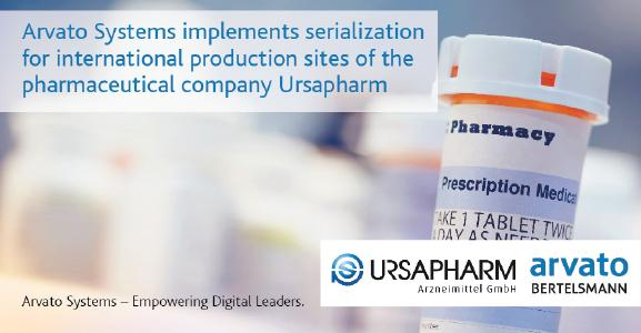 Ursapharm relies on Arvato Systems serialization solution