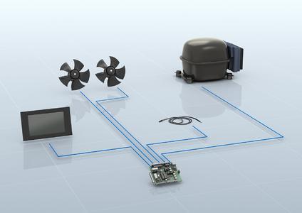 Bild 1: Mit dem Kühlsystem können dezentral aufgestellte Geräte wie Getränkekühlautomaten zentral überwacht und fortlaufend auf Leistung und mögliche Energieverluste überprüft werden.