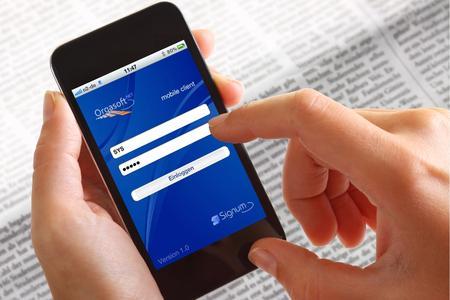 Orgasoft.NET mobile für Smartphones - Der mobile Client für das Warenwirtschaftssystem Orgasoft.NET