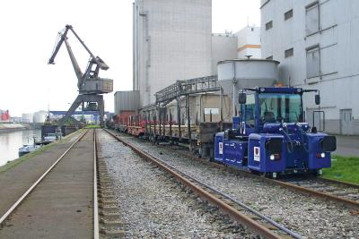 German steel trading company is trusting in ZAGRO shunting technology