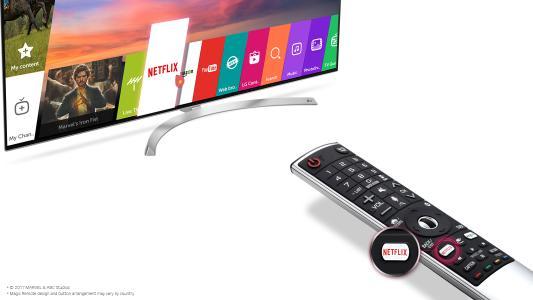 Bild LG Netflix Hot Key