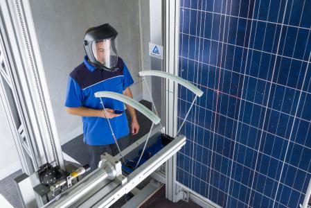 Photovoltaik Hagelschlag