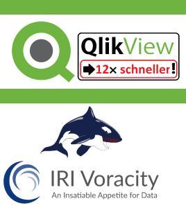 QlikView mit IRI Voracity 12x schneller!