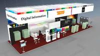 Digital Information, Just Normlicht and Tecco invite visitors t o their Meeting and Communication Point: »Colorbar«