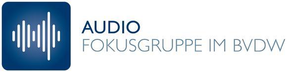 Logo Fokusgruppe Audio im BVDW