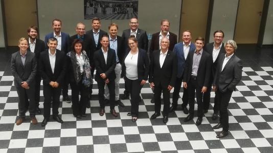 Das fünfte FURNeCorp-Konsortialtreffen in der Möbelfachschule in Köln
