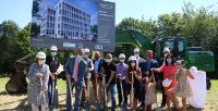 First ground-breaking ceremony in the Technology Park: Start of construction for the new Raynet headquarters