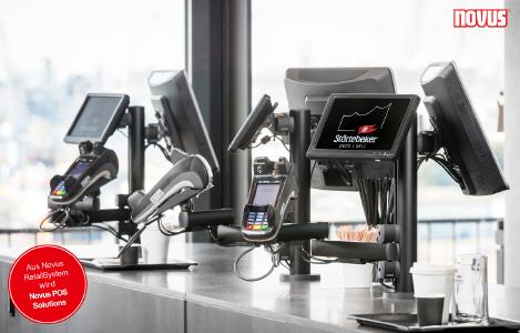 Novus POS Solutions - EC Cash Terminal Störtebeker Elphi Hamburg