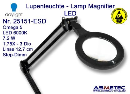 Daylight LED-Lupenleuchte 25151 ESD