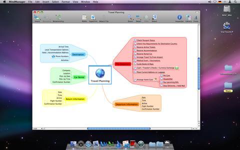 Mindjet MindManager 7 Mac Leopard