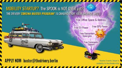 The Drivery Corona Buster Program für Mobility Startups