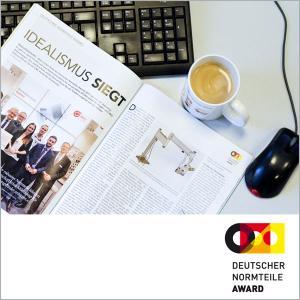 Artikel im :K Magazin berichtet über die Gewinner des Deutschen Normteile Awards 2017