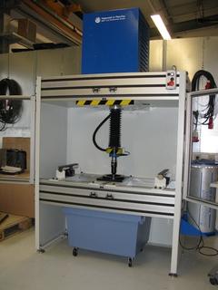 Inspekt 50 S special machine for testing float glas