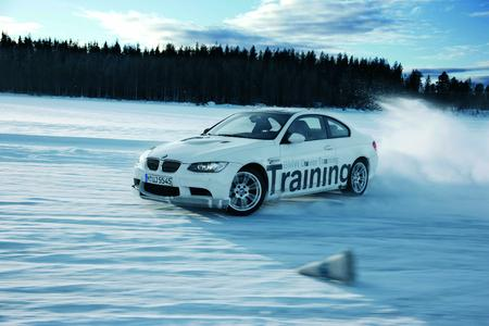 BMW snow and ice training courses in winter 2011