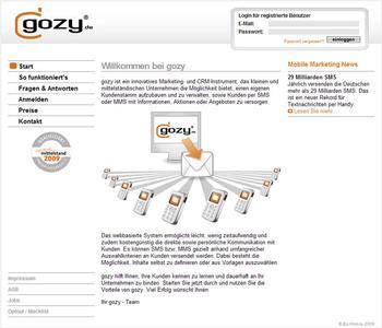Kundenbindung per Handy: gozy.de bietet Mobile Marketing für kleine und mittelständische Unternehmen