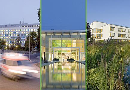 3 Standorte der ELBLANDKLINIKEN   Foto: M. Mitterer