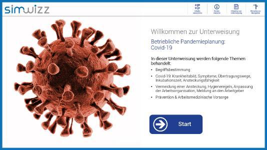 Pandemie-Unterweisung der domeba distribution GmbH