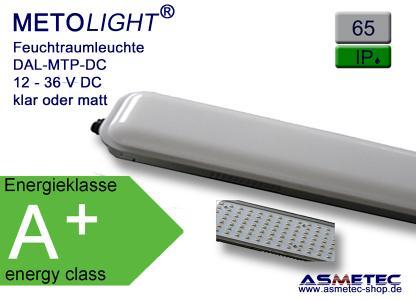 METOLIGHT LED Wannenleuchte IP65 der Serie DAL-MTP-DC
