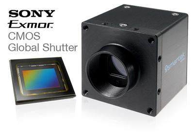 One step ahead in industrial imaging with SMARTEK Vision and Sony's CMOS Global Shutter Sensor