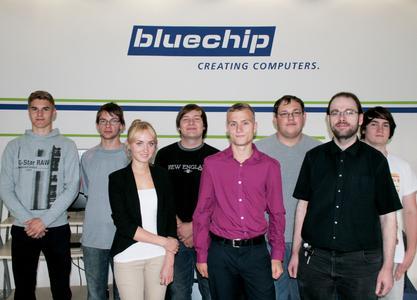bluechip Auszubildende 2014