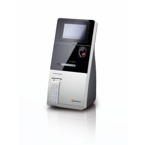 Messdaten für therapeutisches Vorgehen bei der Hand: Thermodrucker GeBE-MULDE Mini in ESCHWEILER Blutanalysesystem (Copyright ESCHWEILER GmbH & Co.KG)