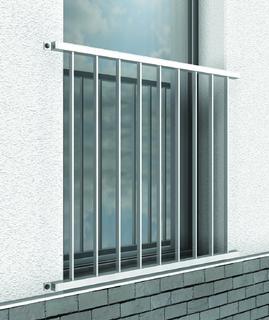 aluminium absturzsicherung f r den objektbereich klaus peter abel metallwaren e k. Black Bedroom Furniture Sets. Home Design Ideas