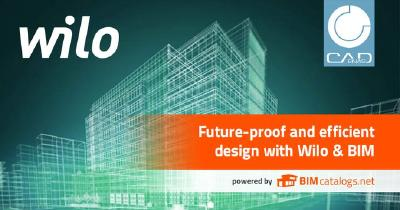 Digitalization: New Wilo BIM-portal powered by CADENAS online