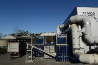 Dank der neuen Klärschlammtrocknungsanlage kann die KVM GmbH heute auf den Einsatz fossiler Brennstoffe zur Klärschlammtrocknung vollständig verzichten. Foto: Jean Schaap GmbH