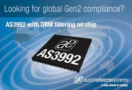 PR09 748 AS3992 UHF RFID Reader