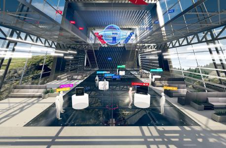 Virtual Design Center Interactive: virtueller Showroom von dormakaba