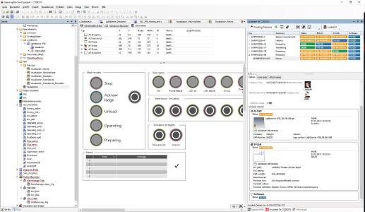 Über die Integration in Codesys können Programmierer direkt auf wichtige Informationen der Steuerungstechnik zugreifen / Quelle Eplan Software & Service GmbH & Co. KG