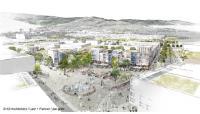 Der neue klimaneutrale Freiburger Stadtteil Dietenbach ist eines der vielen Projekte, die auf dem Kongress Energieautonome Kommunen vom 7.-8. Februar 2019 in Freiburg vorgestellt werden (Foto: K9 Architekten/Latz + Partner/die-grille)